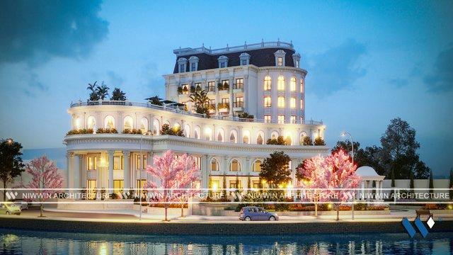 Tổ hợp dịch vụ Khách sạn - Nhà hàng - Trích Sài Hồ Tây